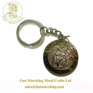 좋은 품질은 아빠를 위해 새겨진 선물 금속 Keychain를 온라인으로 개인화했다