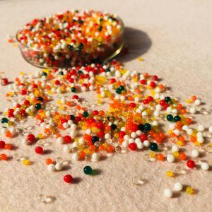 Cristal de colores varios cordones de agua en el suelo de barro para la boda de la torre central de llenado de florero