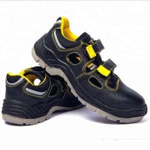 Sandalia de Verano de corte bajo Calzado de seguridad zapatos de trabajo