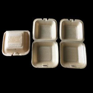 環境に優しい生物分解性の使い捨て可能なBentoのお弁当箱