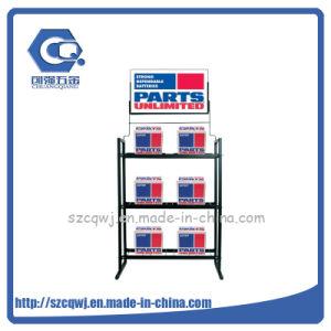 3-магазин розничной торговли Пол Custom малых электроника подставка для дисплея от автомобильного аккумулятора