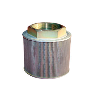 Metallineinander greifen-Hydrauliköl-Saugfilter-Element