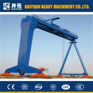 300トンの維持の起重機が付いているレール敷の造船業のガントリークレーン