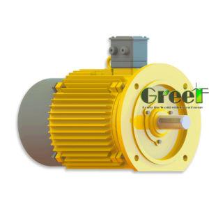 generatore di turbina del vento 5kw, generatore a magnete permanente basso di RPM da vendere