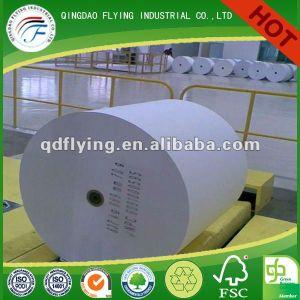 60 g/m² Papel de impresión de libros baratos revestimiento de papel offset Woodfree desnuda