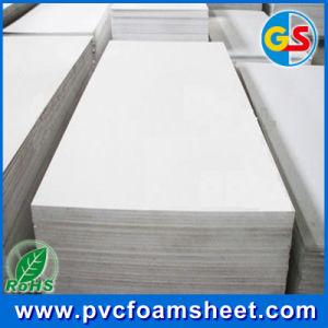 Hoja de espuma de PVC Precio desde China Goldensign Popular Proveedor (tamaño: 1,22m x 2,44m)