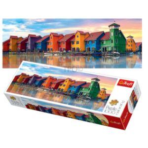 Qualitäts-Leuchtturm-Panorama-Puzzle (1000 Stück)
