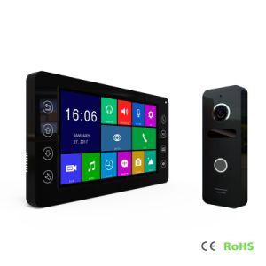 HD Home Security 7 pulgadas de la memoria de vídeo de interfono de Intercomunicación de timbre