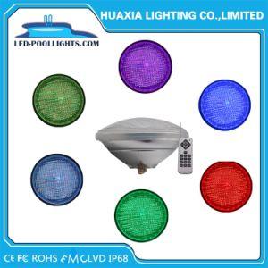 De vidrio grueso IP68 24W LED PAR56 de la luz de la piscina solo Color/RGB 8W/12W/18W/24W/35W
