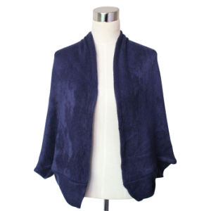 Pashmina Acrylic Knitted Fashion女性冬のショール(YKY4403-1)