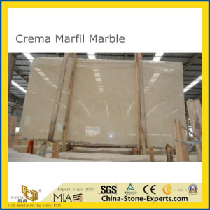 Losas de mármol Crema Marfil para el proyecto