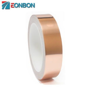 Fita adesiva de condutores de cobre para circuito de papel, reparações eléctricas, Aterramento