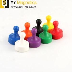 磁気押しは冷却装置ホーム学校のための磁石によって分類されるカラー磁石をピンで止める