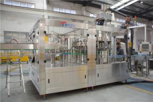 Gás completa automática da linha de produção de bebidas