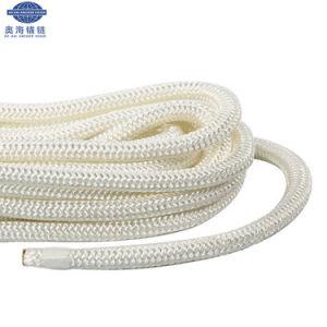 専門の船ロープ、卸し売りボートロープ緑の係留ロープ
