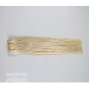 Estensioni brasiliane dei capelli umani di Remy del Virgin della cuticola diritta serica #1001
