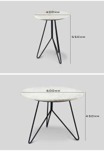 Tavolino da salotto moderno della cremagliera del metallo della mobilia domestica