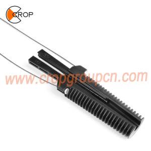 Morsetto di plastica durevole ambientale della piegatura del cavo ottico per il cavo di comunicazione