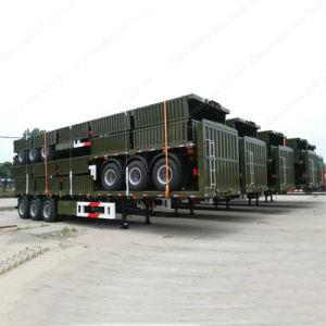 50ton 3 eixo de carga Tri-Axle semi reboque para venda a quente