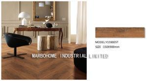 De houten Lookmatte Gebeëindigde Ceramiektegel van de Vloer voor Slaapkamer