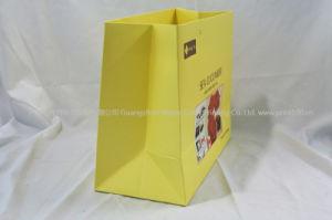 Commerce de gros prix bon marché du luxe cadeau imprimé Shopping sac de papier personnalisé