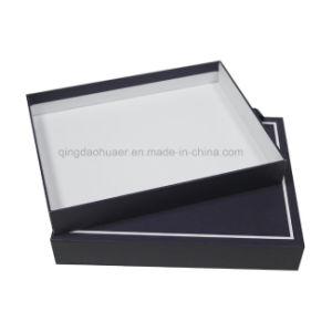 주문을 받아서 만드는을%s 가진 파란 호화스러운 Scarf&Garment 마분지 선물 상자