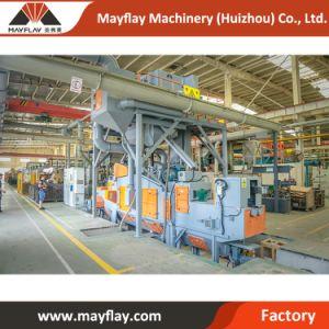 Автоматическая пластинчатая пружина фиксации дробеструйная очистка машины производителей в Индии для автомобильной промышленности