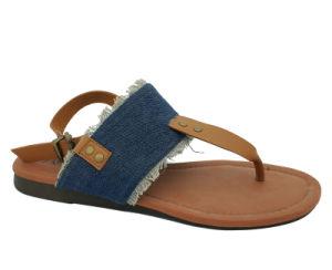 Women's Flip Flops T-sangle Mesdames plat de l'été sandale les chaussures de plage