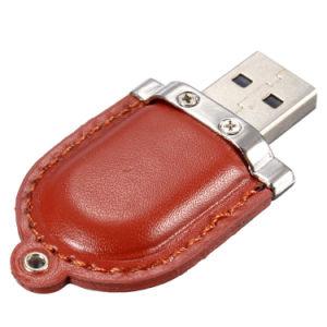 Design de luxe en cuir personnalisé lecteur Flash USB pour la promotion
