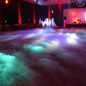 Super Fogger 2000W de niebla de agua de la máquina para la iluminación de escenarios de la boda