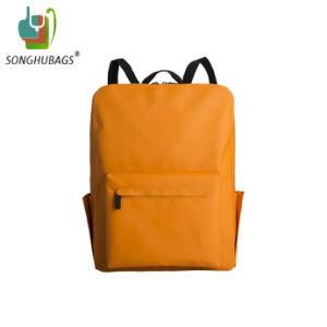 Personnalisé sac à dos Sac étanche Orange sec avec bretelles