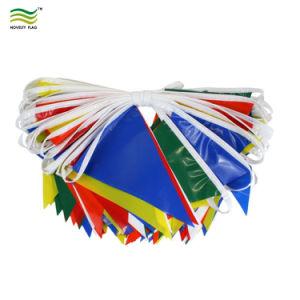 불규칙한 주문 모양 플라스틱 비닐 종이 만국기 깃발 기치