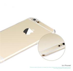 Teléfono móvil de TPU Suave funda transparente para el iPhone 5 6 7 8 Plus X