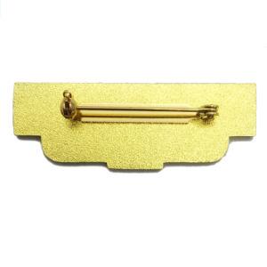 Freie Probe kein MOQ kundenspezifisches einfaches Conacce Firmenzeichen-Goldpin-Abzeichen für Dekoration (087)