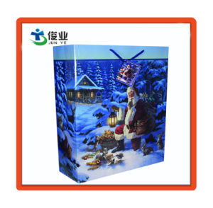 Printing-Cardboard haute quali1ty Noël sac de papier commercial luxueux sac cadeau