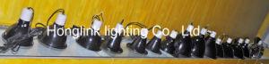 UL VDE Reptil mascota de la luz de la abrazadera de la luz de calentamiento de la lámpara de calor por infrarrojos con un gran domo profundo soporte