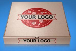 Custom Ccnb /l'impression de l'emballage carton Carton Ondulé Pizza Box