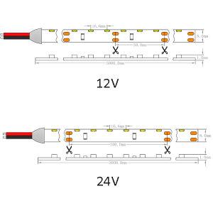 UL CE 60LEDs/M335 Side-Emitting SMD R/G/B/A/W luz Fita Flexível de LED