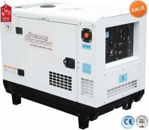 V-Twin de 50Hz Trifásico silencioso generador de gasolina de 10kw Bj12000GE3