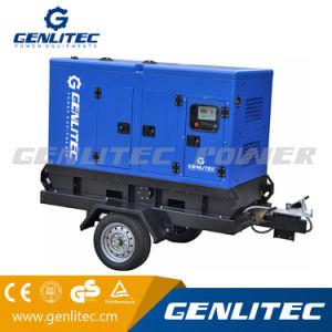 移動式トレーラーが付いているCummins 80kw/100kVAのディーゼル発電機