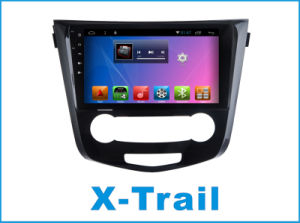 닛산에서 인조 인간 시스템 차 DVD 플레이어는 Bluetooth/TV/WiFi를 가진 10.2 인치 접촉 스크린을 X 끈다