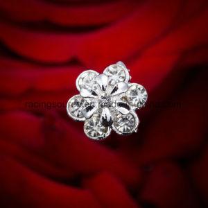 装飾の花の花嫁の花束の宝石類のアクセサリの方法結婚式の花束のための水晶ラインストーンのブローチPin