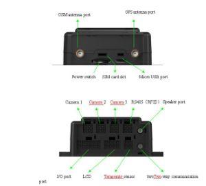 Мотоцикл GPS /автобус Tracker Gvt800 двусторонняя связь автомобиля GPS Tracker