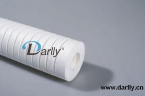 Cartuccia di filtro saltata fusione più poco costosa dai pp con superficie Grooved profonda
