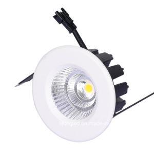 Temperatura de cor branca quente (CCT) e Downlights Tipo de item LED Jóias Downlight 7W