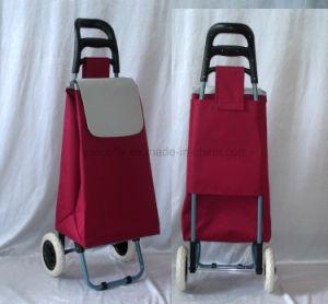 Léger à Roues Multipurpose plié bagages 2 Sac de Shopping Trolley