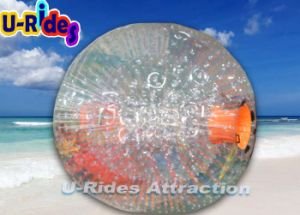 De duurzame 1.0mm Opblaasbare Bal Zorb van pvc voor Volwassene