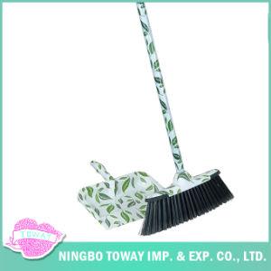 Scopa lunga di plastica della setola del fiore all'ingrosso pieghevole molle del soffitto