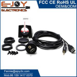 Универсальный автомобиль удлинительный кабель Aux USB 2.0 с приборной панели Car Mount
