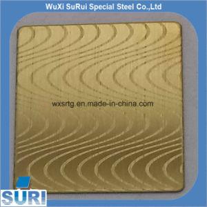 201 strato Checkered/di goffratura dell'acciaio inossidabile